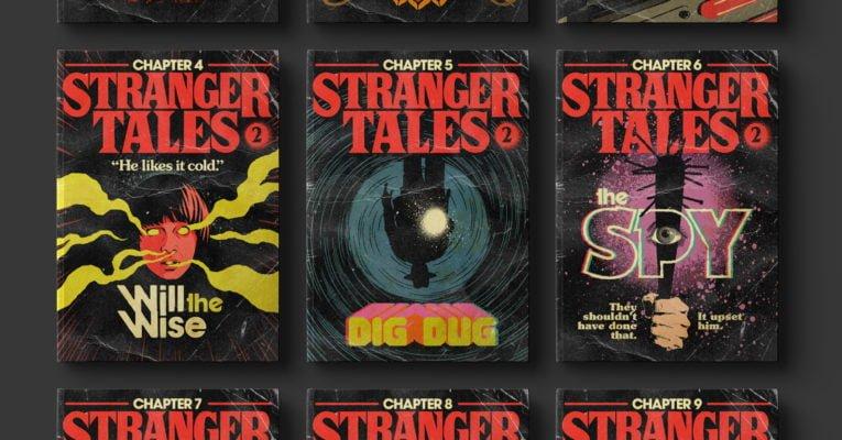 Stranger Things 2 als Pulp Taschenbücher
